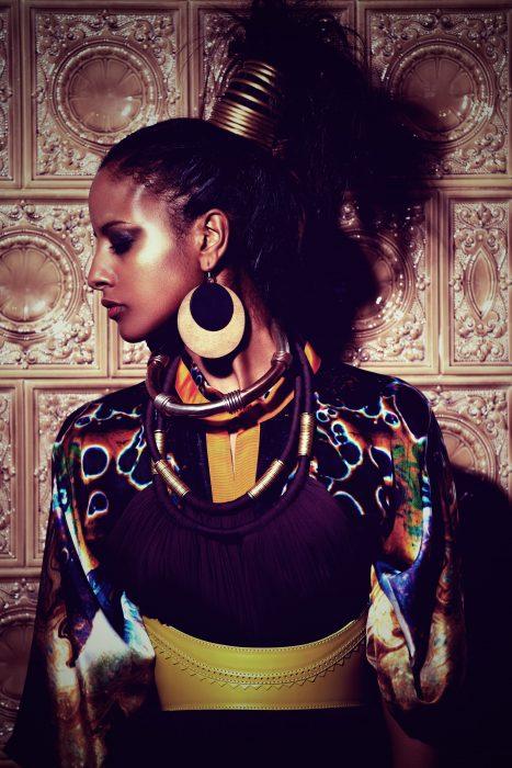 Editorial Sara Nuru GNTM Germanys next Topmodel